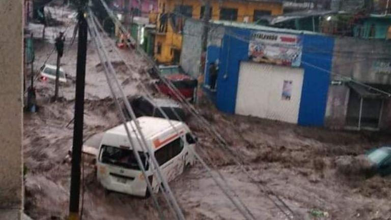 Afectaciones en Ecatepec