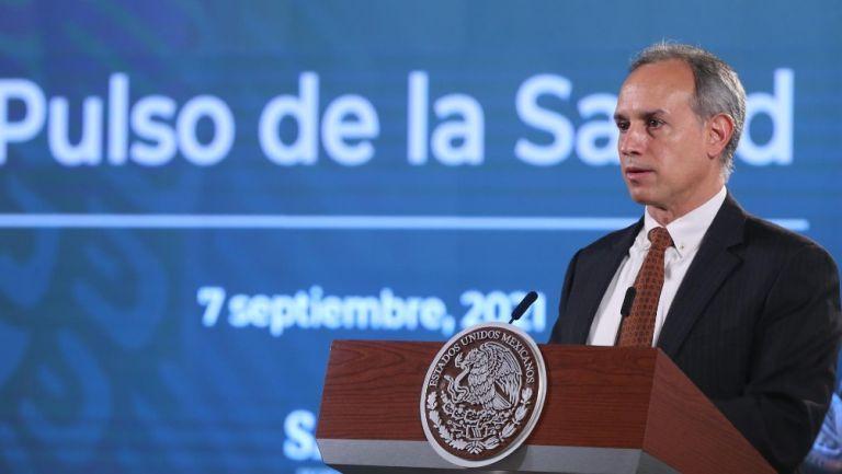 Hugo López-Gatell: 'Una vacuna covid aplicada a menores quita una dosis a personas en riesgo'