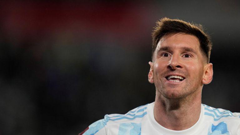 Messi, feliz tras su actuación con Argentina