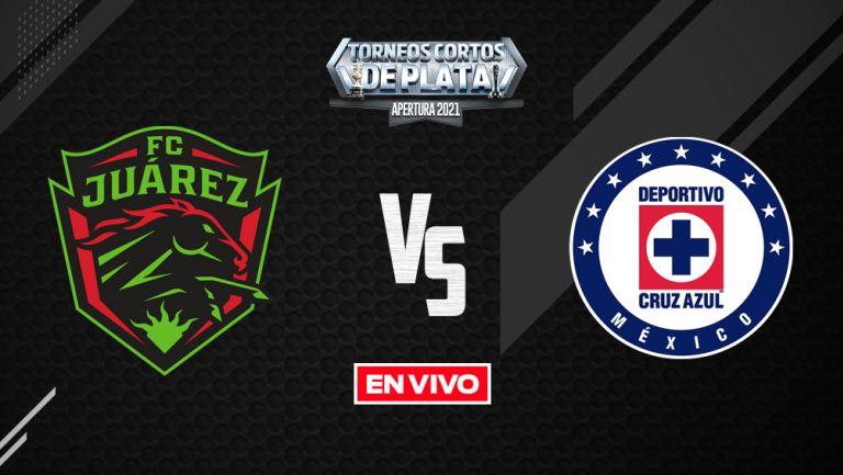 EN VIVO Y EN DIRECTO: Juárez vs Cruz Azul Liga MX Apertura 2021 J8