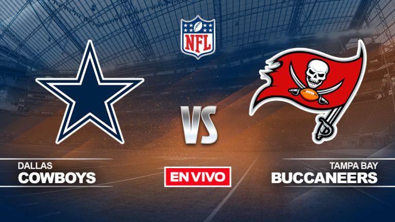 EN VIVO Y EN DIRECTO: Dallas Cowboys vs Tampa Bay Buccaneers