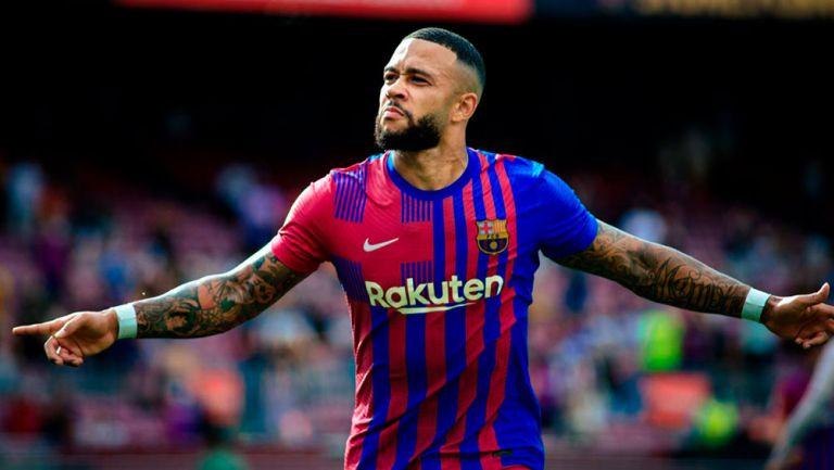 Barcelona: Eto'o cree que Memphis Depay puede suplir a Messi como líder culé