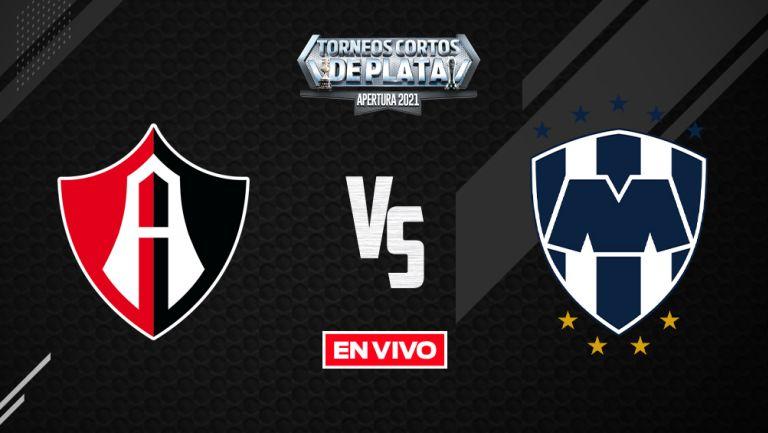Atlas vs Monterrey Liga MX EN VIVO: Apertura 2021 Jornada 8