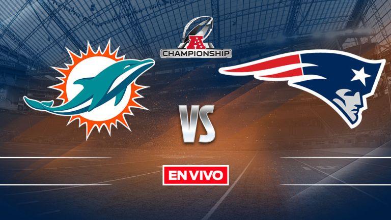 EN VIVO Y EN DIRECTO: Dolphins vs New England Patriots S1