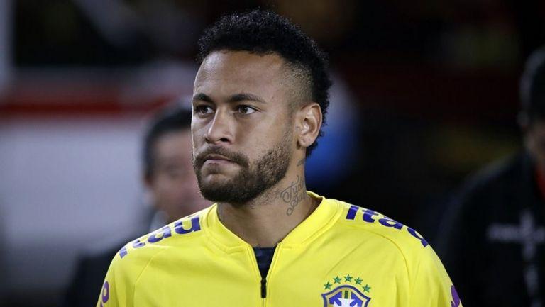 Neymar molesto con las críticas