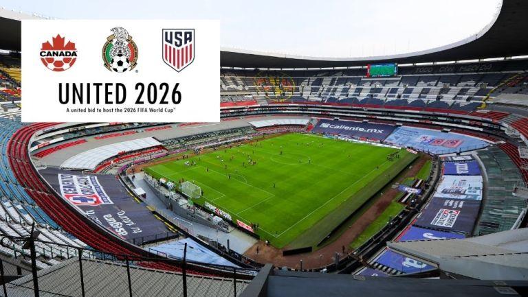 El Estadio Azteca pretende ser la sede inaugural