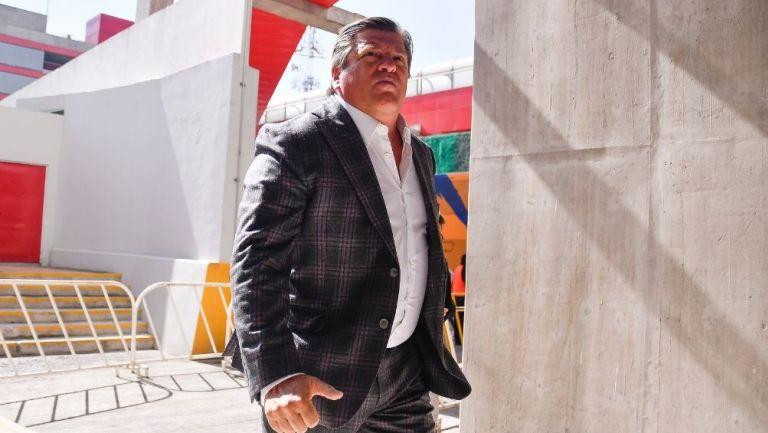 Miguel Herrera, técnico de Tigres