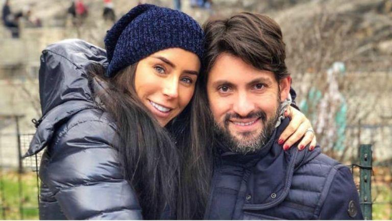 Gómez Mont y su esposo