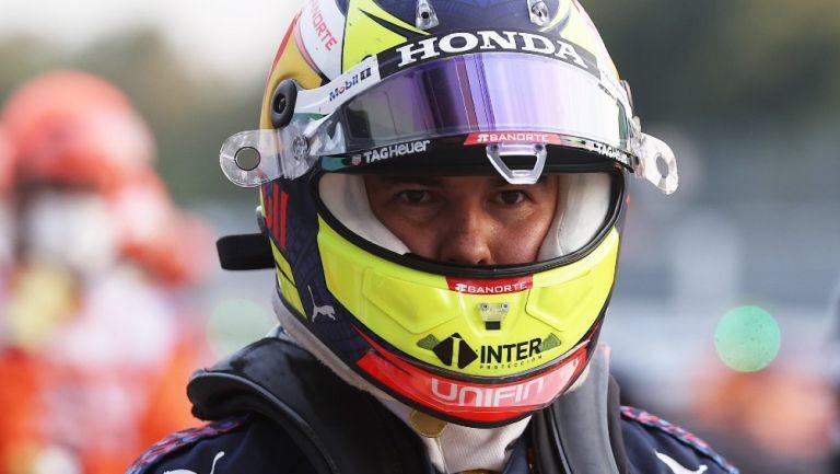 Sergio 'Checo' Pérez en las prácticas del GP de Italia