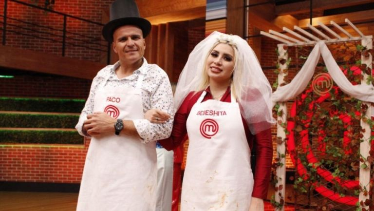 Chacón y Bebeshita en MasterChef Celebrity