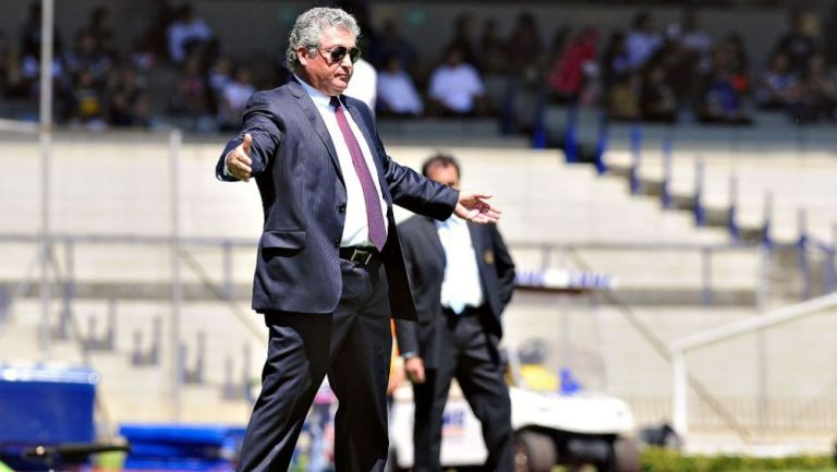 Víctor Manuel Vucetich en Ciudad Universitaria en 2012