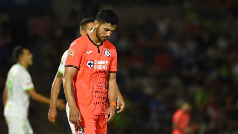 Lucas Passerini en derrota vs Juárez
