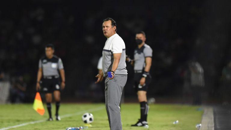 Juan Reynoso en derrota vs Juárez
