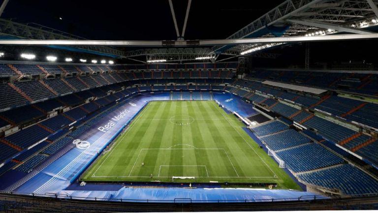 Vista dentro del remodelado Santiago Bernabéu