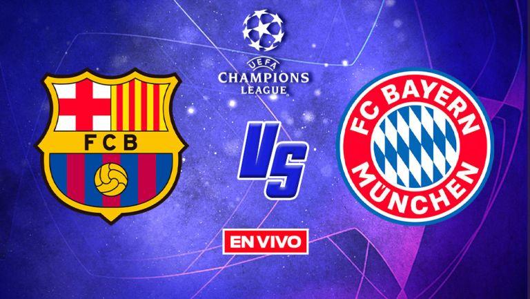 EN VIVO Y EN DIRECTO: Barcelona vs Bayern Munich