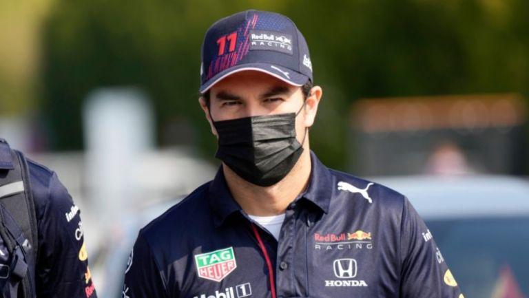 Checo Pérez en el GP de Italia