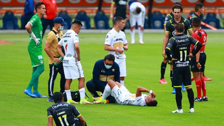 Pumas: Con cuatro lesionados previo a Semifinal de Leagues Cup ante León