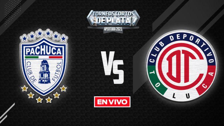 EN VIVO Y EN DIRECTO: Pachuca vs Toluca