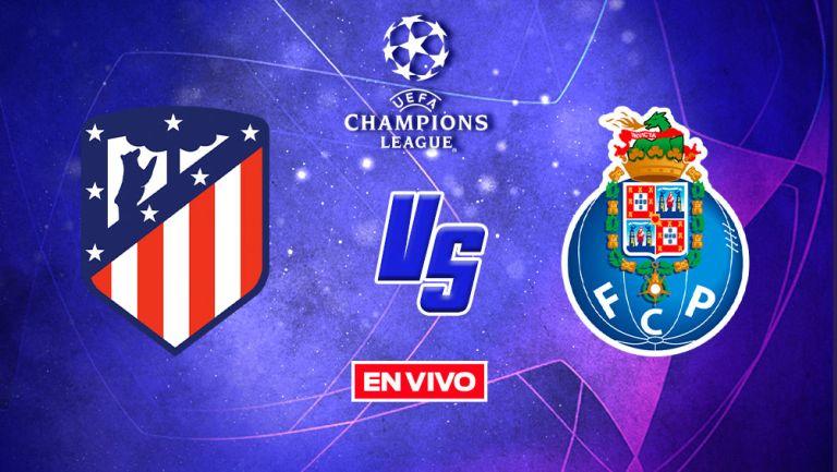EN VIVO Y EN DIRECTO: Atlético de Madrid vs Porto