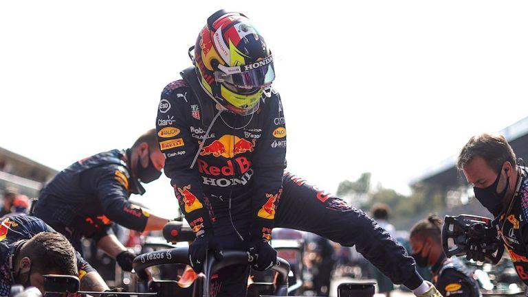 Sergio Pérez en el GP de Italia