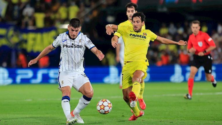 Villarreal y Atalanta empataron a dos en La Cerámica