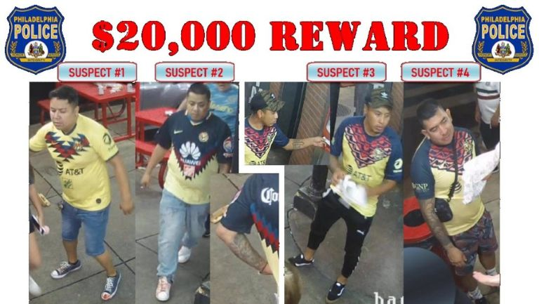 América: Presunto asesino de aficionado en Philadelphia se entregó a la policía
