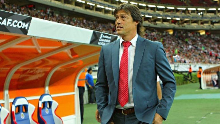 Almeyda durante su paso por Chivas