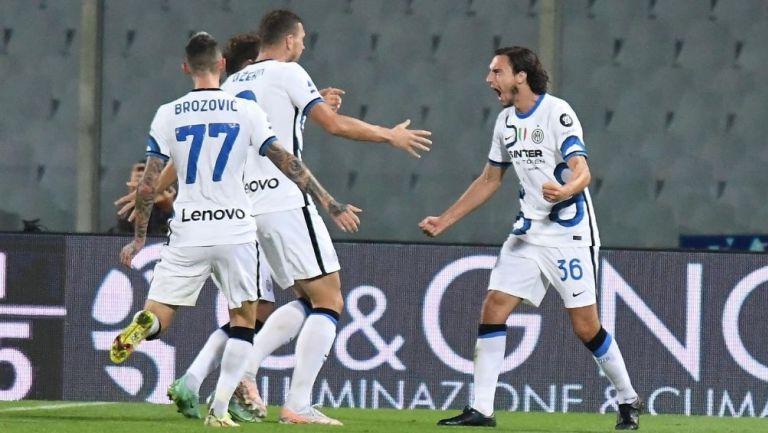 Inter venció a la Fiorentina