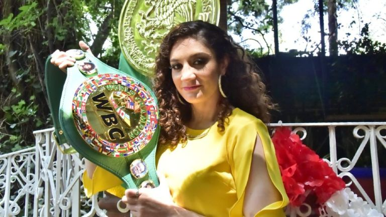 Jessica González tras obtener título mundial interino Gallo del CMB: 'Es un sueño hecho realidad'