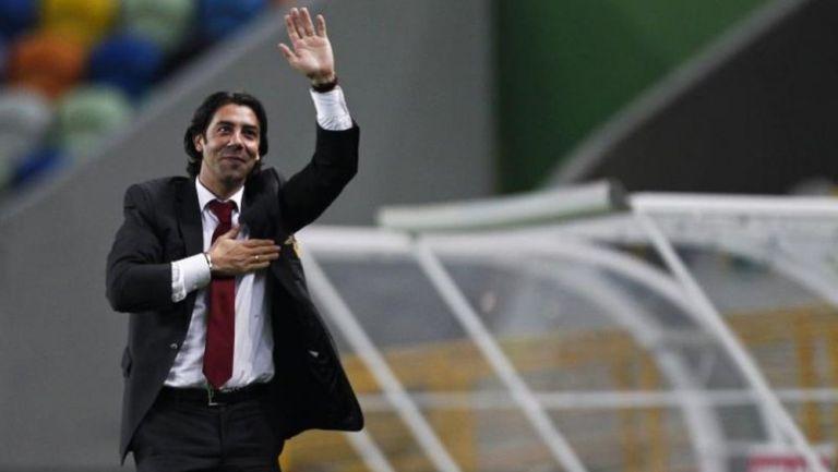 Rui Costa, referente histórico del Benfica