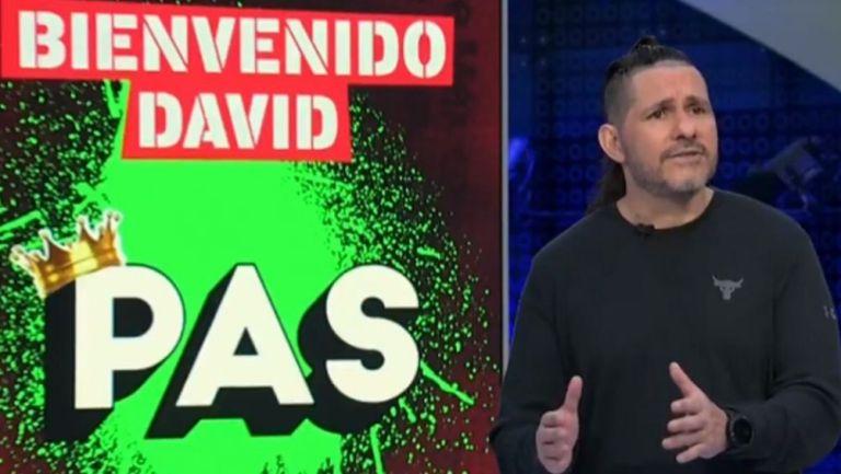 David Páramo en el noticiero de Ciro Gómez Leyva
