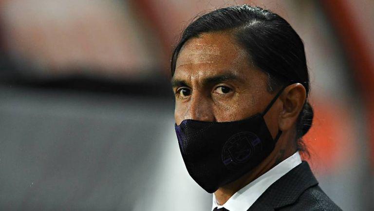 Palencia en su última etapa como entrenador en Mazatlán