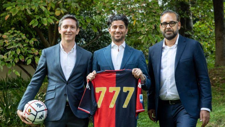 777 Partners compró al Genoa de la Serie A