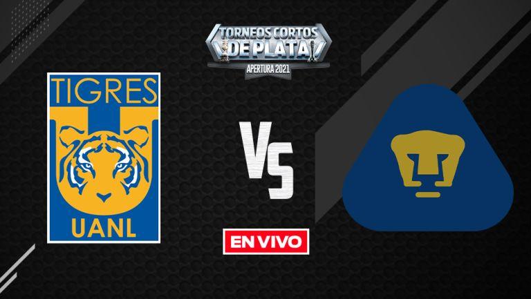 EN VIVO Y EN DIRECTO: Tigres vs Pumas Liga MX Apertura 2021 J10