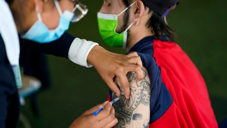 Campaña de vacunación contra el Covid-19 en México