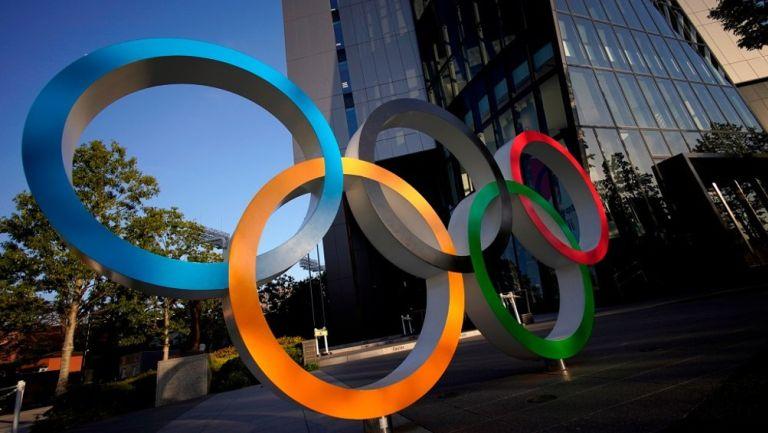 Los aros olímpicos en Tokio 2020