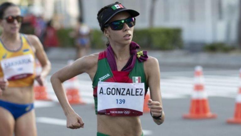 Alegna González en acción en Tokio 2020
