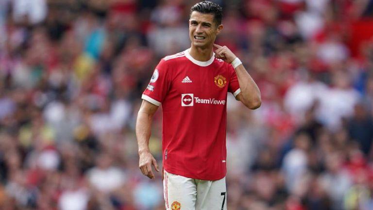 Cristiano Ronaldo contra el Manchester United