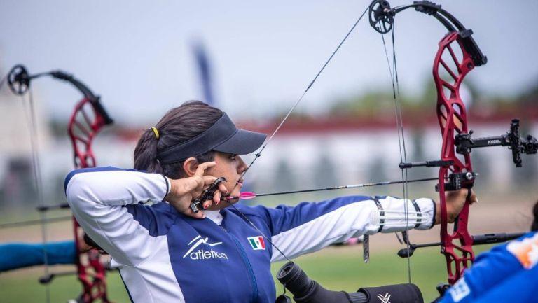Mundial de Tiro con Arco: Andrea Becerra se colgó la medalla de bronce