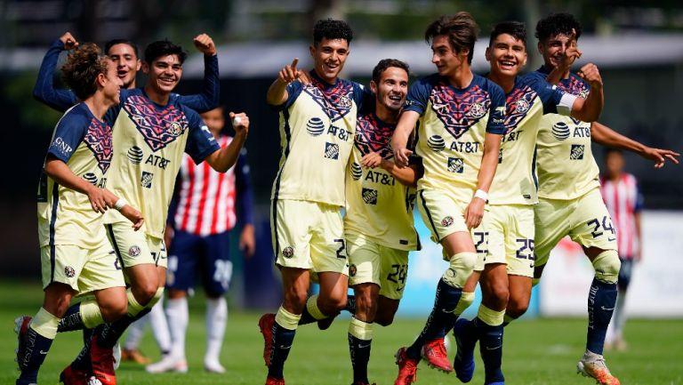 Clásico Nacional: América y Chivas dividen triunfos en categorías juveniles