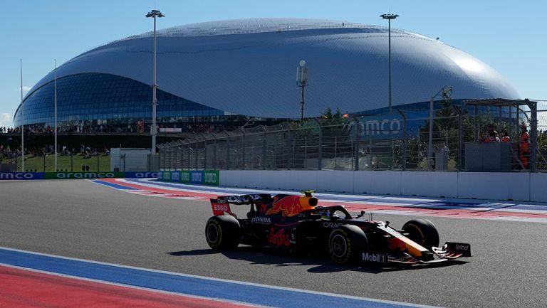 Checo Pérez finalizó noveno en el Gran Premio de Rusia