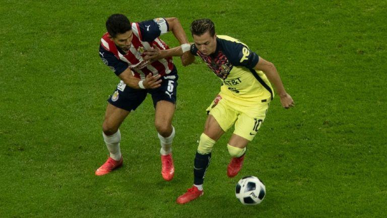 Clásico Nacional: América y Chivas igualaron en partido con polémica, pero sin goles