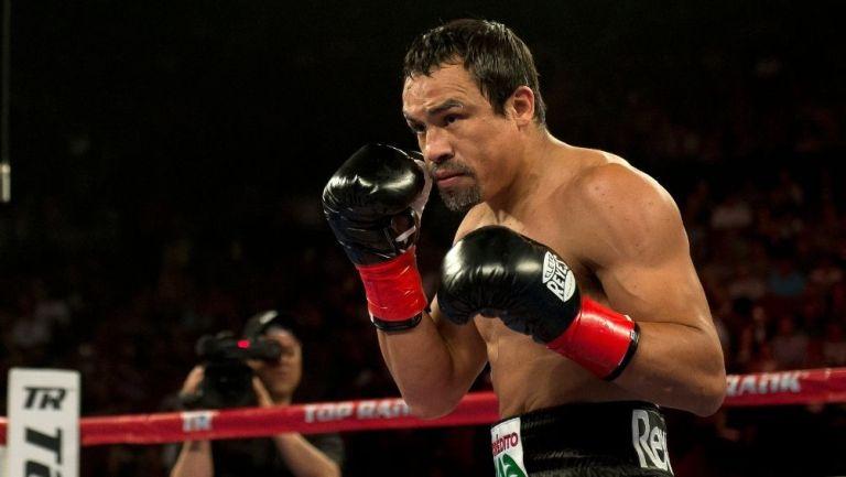 Márquez durante una pelea
