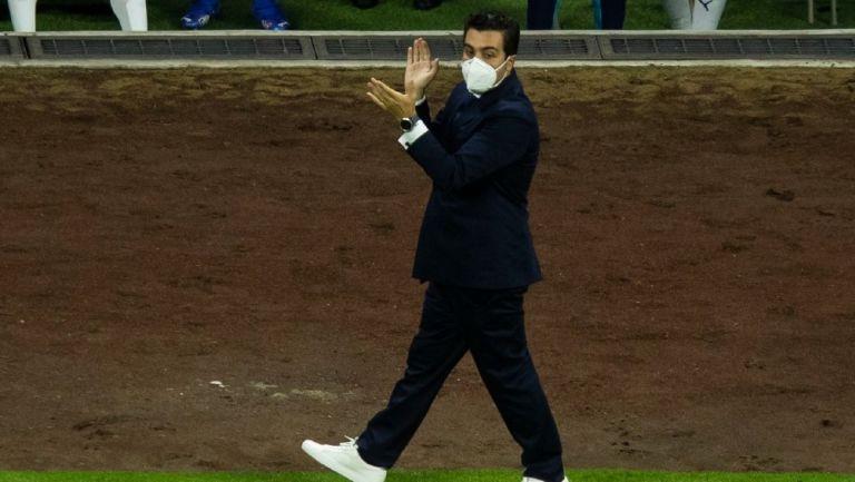 Marcelo Michel Leaño, tras empate ante América: 'En el primer tiempo jugamos de 10'