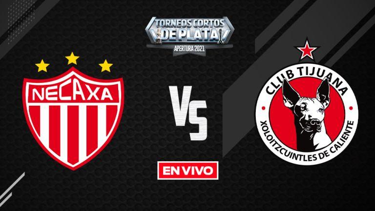 EN VIVO Y EN DIRECTO: Necaxa vs Tijuana Liga MX Apertura 2021 J11