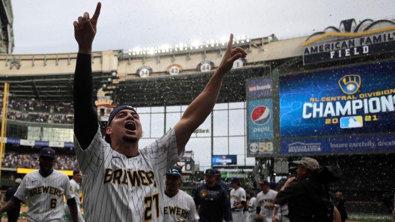 MLB: Brewers, de Luis Urías, amarró título de División al derrotar a los Mets
