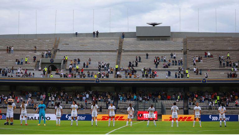 La distribución de la afición en el Pumas vs Juárez