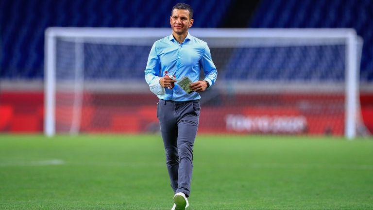 Jimmy Lozano: El extécnico de la Selección Olímpica Mexicana visitó a Diego Lainez