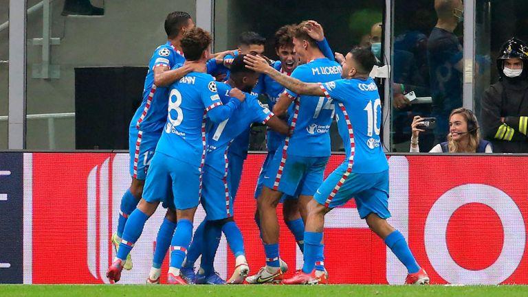 Champions League: Atlético de Madrid sacó triunfo sobre la hora al Milan