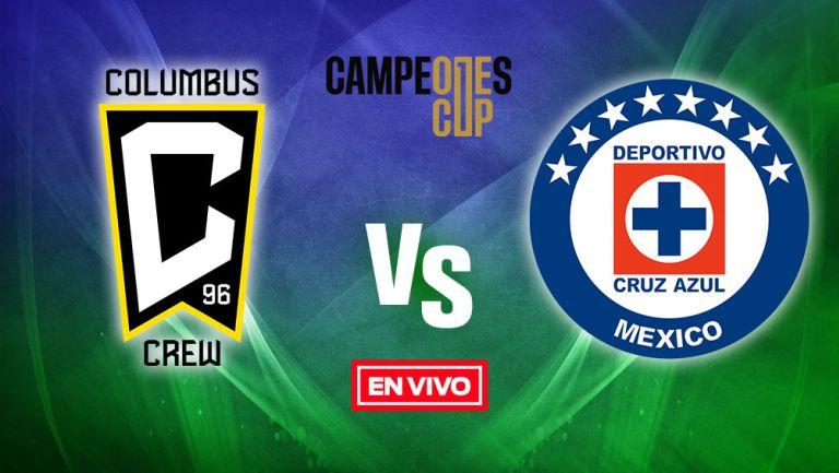 Columbus Crew vs Cruz Azul EN VIVO Campeones Cup Final